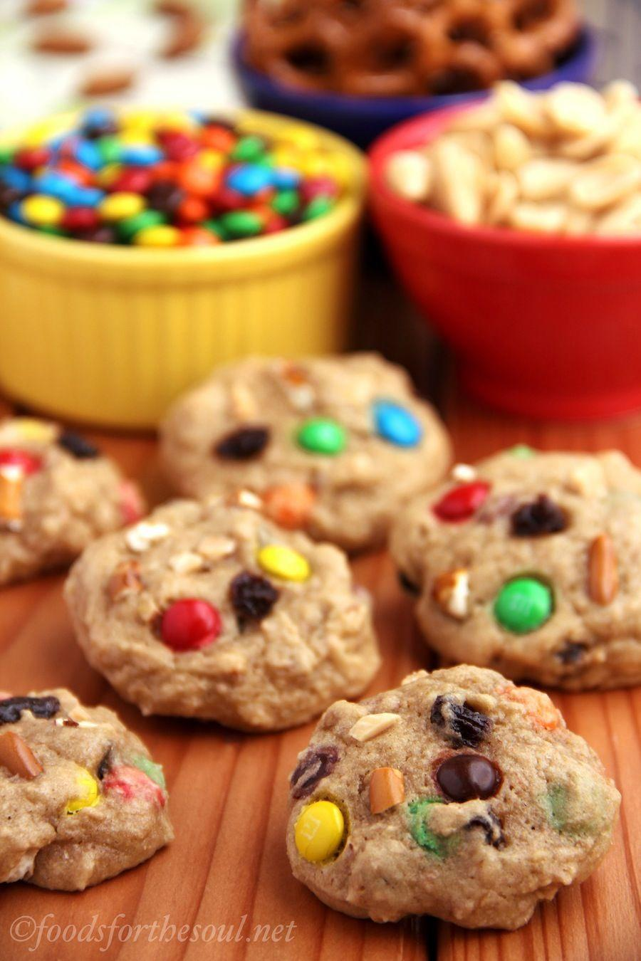 """<p>No, edibles don't quite take the cake in Colorado ... yet. Trail mix cookies, however, are a popular treat that works for holiday celebrations as well as on-the-go snacks for a hike in the mountains.</p><p>Get the recipe from <a href=""""https://amyshealthybaking.com/blog/2013/06/09/trail-mix-cookies/"""" rel=""""nofollow noopener"""" target=""""_blank"""" data-ylk=""""slk:Amy's Healthy Baking"""" class=""""link rapid-noclick-resp"""">Amy's Healthy Baking</a>.</p>"""