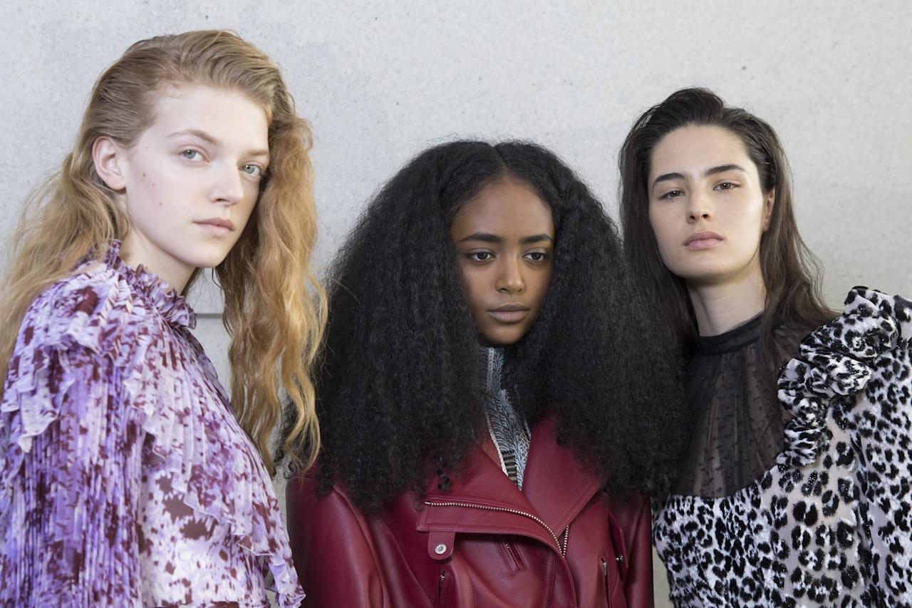 <p>Whether it's elaborate embellished updos, an 80s perm revival or the fash crowd's go-to 'I woke up like this' hair, fashion month is the place to get all your hair inspo for next season.</p><p>From Chanel and Fendi, to Ashley Williams and Molly Goddard, check out the best backstage hairstyles and trends from fashion week AW19, right here.</p>