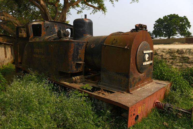 Nepal's railway to India was a lifeline for the small southern frontier town of Janakpur but it fell into disrepair after years of neglect and since 2014 the train has sat stationary