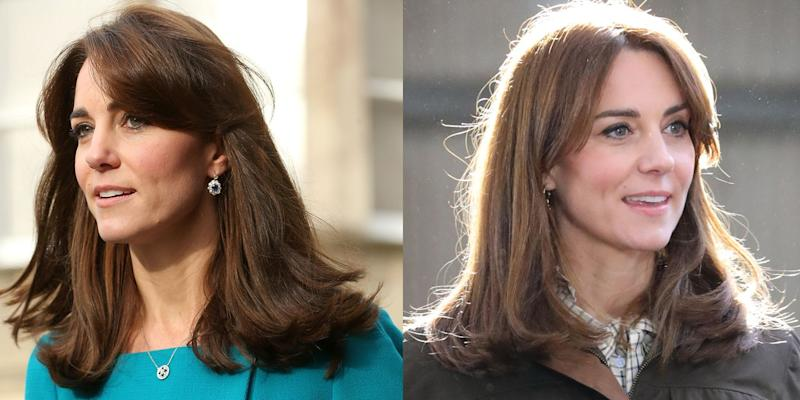 Kate Middleton S New Haircut Is A Return To Her Mum Fringe