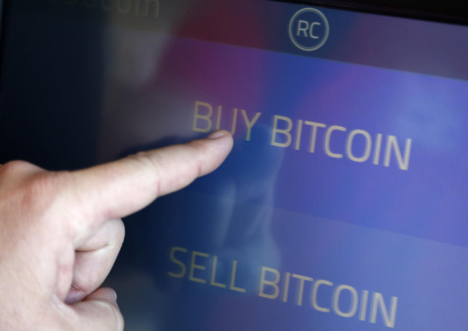 Bitcoin fell 13% on Thursday after surging recently in what analysts call an expected correction. Photo: Lucy Nicholson/Reuters