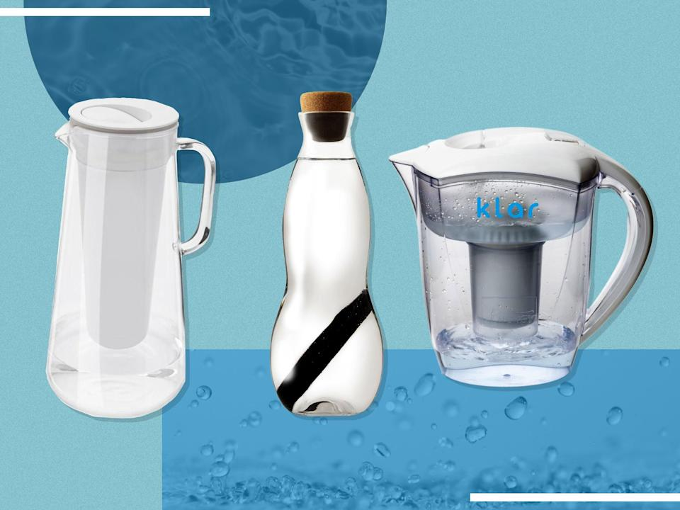 <p>Not only do jugs improve the taste of tap water, but they often work out cheaper than buying individual bottles</p> (iStock/The Independent)