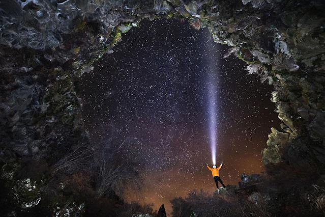 <p>Feeling of Being Alive – California, USA. (Photo: Josh Hydeman / NSS / Caters News) </p>