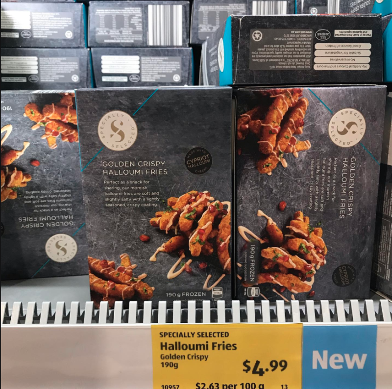 An eagle-eyed Aldi shopper posted the returning hero to Aldi Lovers Australia. Photo: Aldi Lovers Australia