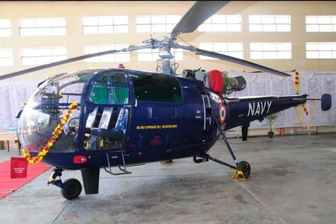 Indian Navy, Made in India, Chetak Helicopter, HAL, defence news,ChetakChetak