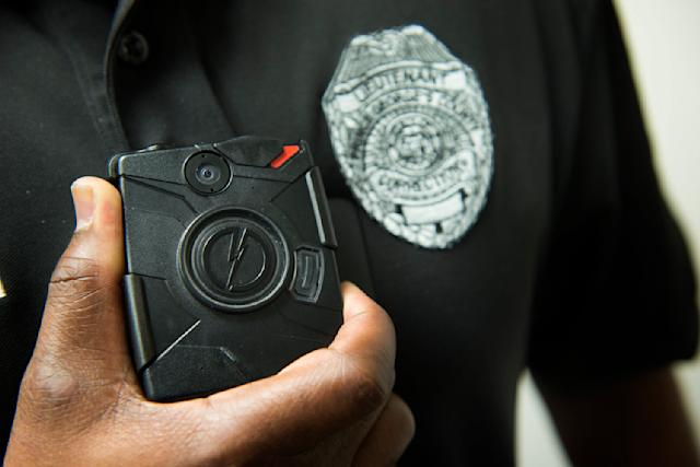 No police department's body camera policyearned a perfect rating, and almost all failed across multiple metrics. (Linda Davidson/The Washington Post via Getty Images)