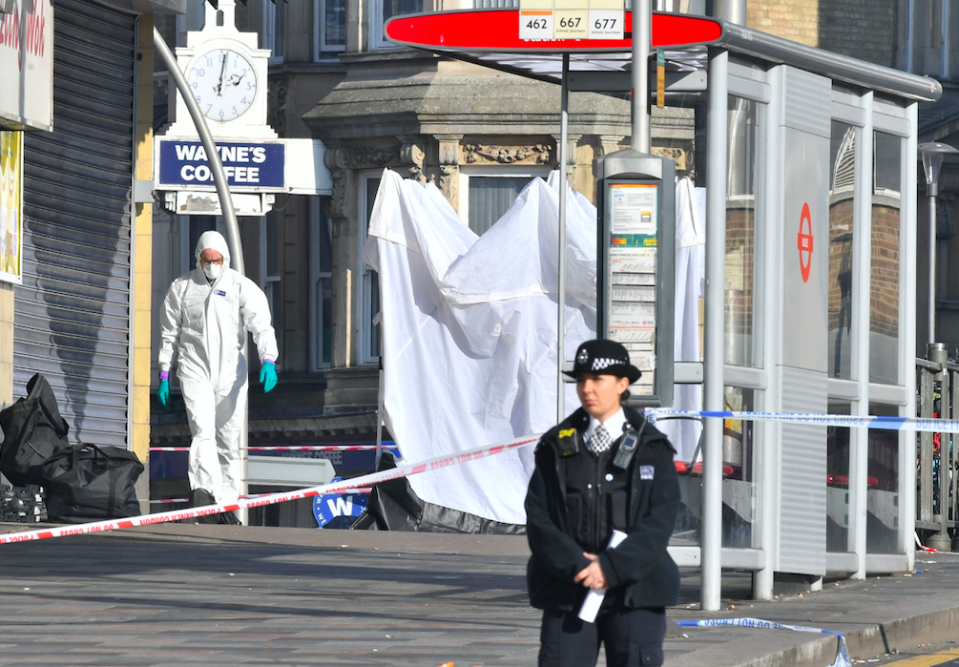 <em>A man was stabbed to death in east London on Tuesday night (PA)</em>