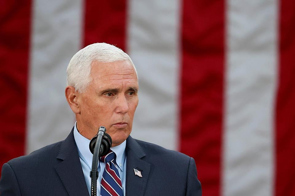 Vice President Mike Pence on Nov. 13, 2020, in Washington, D.C.