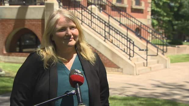 Opposition House Leader and Green MLA Michele Beaton, pictured in June, says when governments focus on population growth, the planning that goes with that needs to be addressed. (Michele Beaton/CBC - image credit)