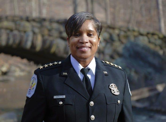 Pamela A. Smith has been named the new chief of the U.S. Park Police by the National Park Service.