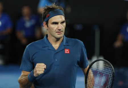 Fantastic Federer breezes past Fritz at Australian Open