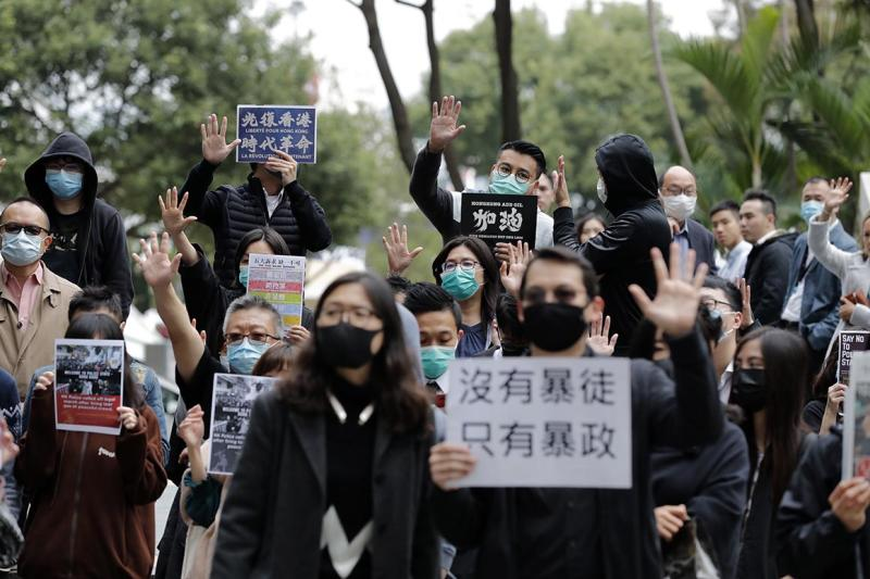 China replaces top official in Hong Kong in first major reshuffle since protests erupted