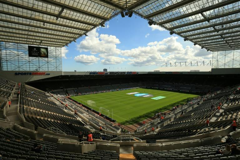 A Saudi-backed takeover could make Newcastle a Premier League force to contend with (AFP/Lindsey PARNABY)