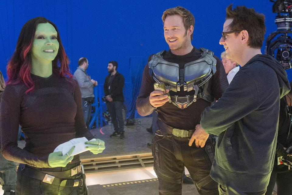 Marvel directors back James Gunn's reinstatement on 'Guardians of the Galaxy 3'