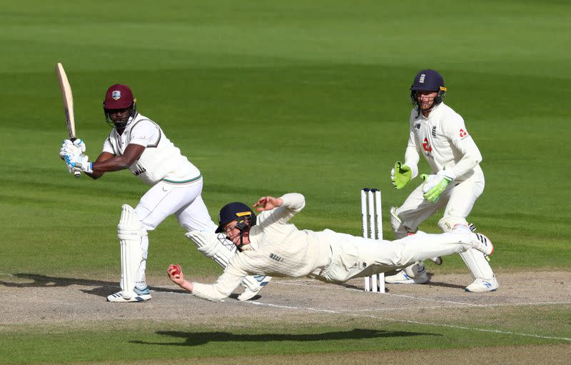 FILE PHOTO: Second Test - England v West Indies