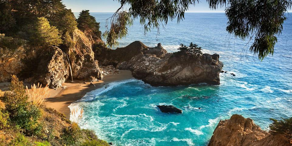 """<p>There's perhaps no other state that captures the essence of a carefree, sun-kissed lifestyle than <a href=""""https://www.bestproducts.com/fun-things-to-do/g22614012/places-to-visit-in-california/"""" rel=""""nofollow noopener"""" target=""""_blank"""" data-ylk=""""slk:California"""" class=""""link rapid-noclick-resp"""">California</a>, and its beaches are a big part of the appeal. The Golden State has over 800 miles of coastline, so there are plenty of top strands to choose from. Whether it's a crescent-shaped beauty or a secluded cliffside stretch, here are the best beaches in California (keep in mind, SoCal beaches are a lot warmer and sunnier than the ones up north!).</p>"""