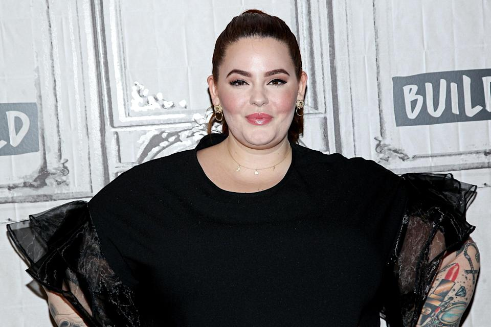 Tess Holliday called out Piers Morgan's body-shaming comments. (Photo: Steve Mack/FilmMagic)