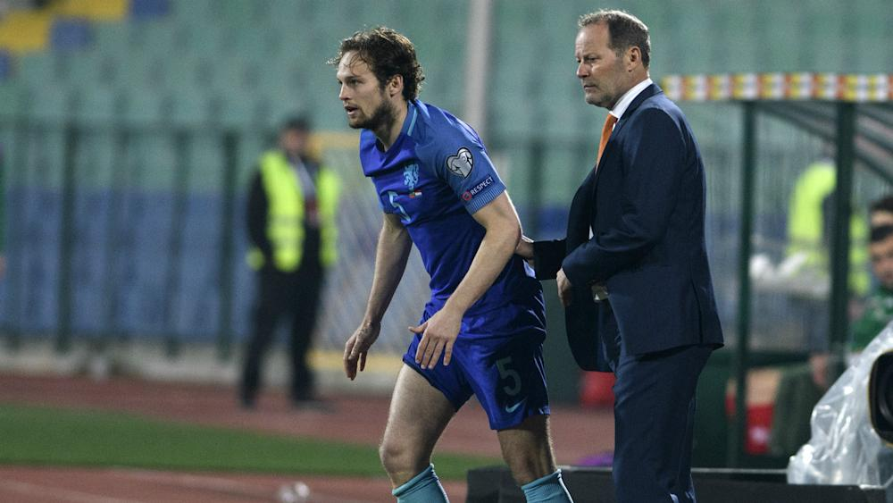 Danny Daley Blind Netherlands Bulgaria World Cup qualifier