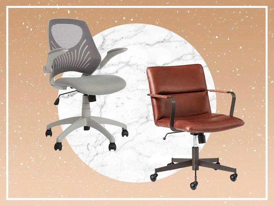 The number of hours we spend sitting to work means that the right chair can greatly reduce the negative impact on our bodies (The Independent/iStock)