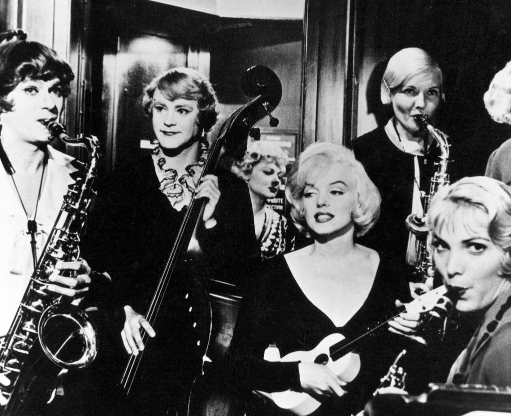 """SOME LIKE IT HOT  """"There is such a thing as perfection. The entire movie is sublime. And that last line: 'Well, nobody's perfect.'"""""""