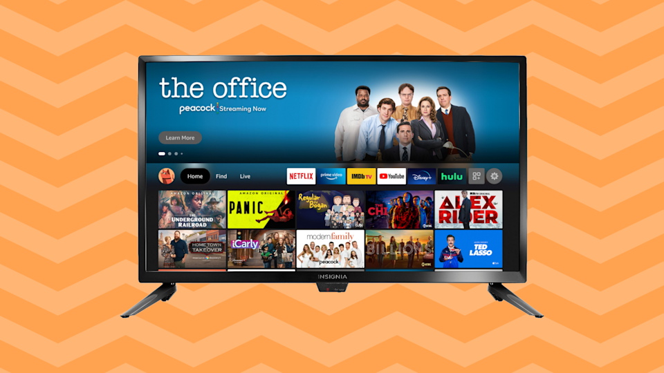 Just $110 for a Fire TV Edition HD TV? Yes, please! (Photo: Amazon)