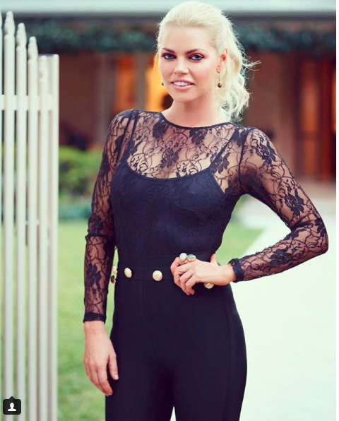 Sophie Monk in October when she was The Bachelorette. Source: Supplied