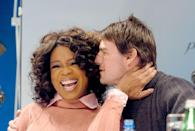 "<p>The first rule of celebrity: do not disrespect Oprah—or her furniture. Tom Cruise learned that the hard way when he jumped on Ms. Winfrey's talk show couch to display his love of then-girlfriend Katie Holmes. Oprah <a href=""http://www.usmagazine.com/celebrity-news/news/tom-cruise-jumped-on-oprahs-couch-10-years-ago-relive-the-moment-2015225"" rel=""nofollow noopener"" target=""_blank"" data-ylk=""slk:didn't actually care"" class=""link rapid-noclick-resp"">didn't actually care</a>, but the public found the expression bizarre and off-putting, and it began a shift in Cruise's image from swoon-worthy heartthrob to… something else.</p>"