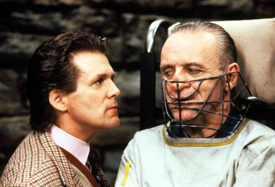 "<h1 class=""title"">THE SILENCE OF THE LAMBS, Anthony Heald, Anthony Hopkins, 1991</h1><cite class=""credit"">©Orion Pictures Corp/Courtesy Everett Collection</cite>"
