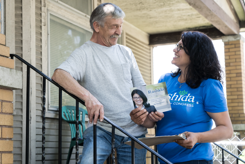 """Rashida Tlaib beat outfive otherDemocratic candidates seeking to fill the seat of Rep. John Conyers, who<a href=""""https://www.huffingtonpost.com/entry/john-conyers-retires_us_5a1dca15e4b04abdc6147ba1""""></a>resigned amid allegations of sexual harassment. (Rashida Tlaib)"""