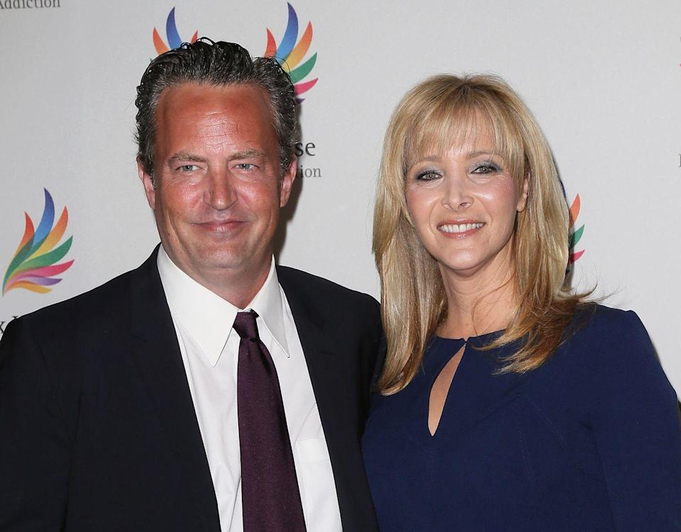<p>The two Friends (is this reference getting tiring yet?) reunited at a charity gala to benefit Phoenix House in LA.</p>