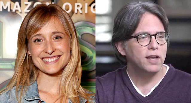 Allison Mack and Keith Raniere. (Photo: Getty Images/YouTube)