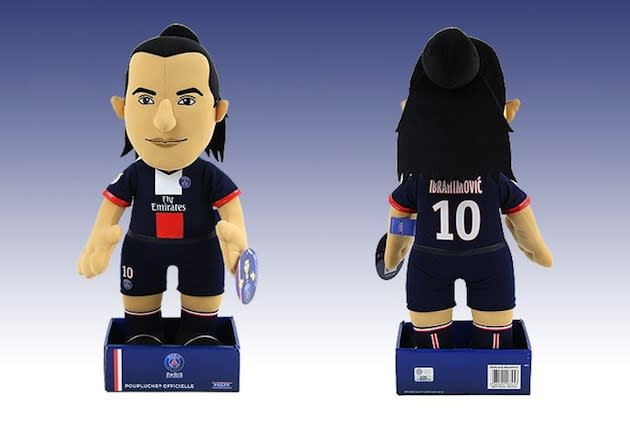 The Zlatan Ibrahimovic plush doll is definitely the only gift you'll want this year