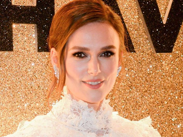 Keira Knightley appeared in Star Wars when she was 12 (Rex Features)