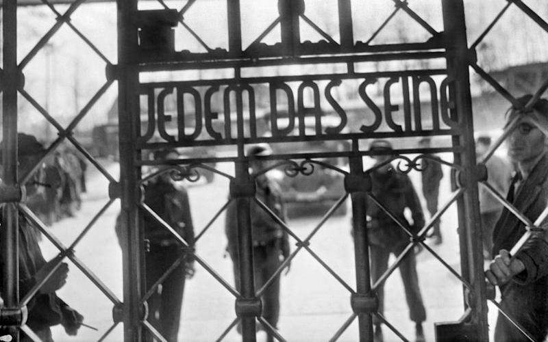 The notorious sign on the gates to Buchenwald which read: