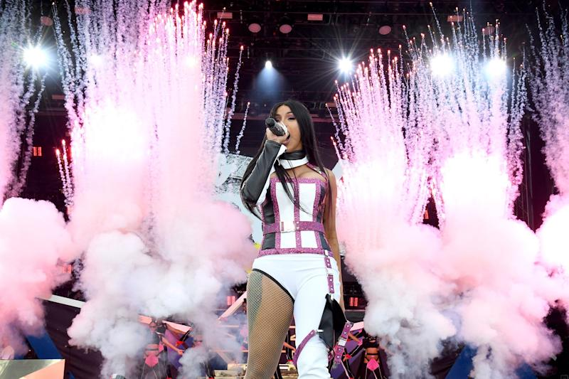 Cardi B's Record Label Warner Music Files for Share Sale