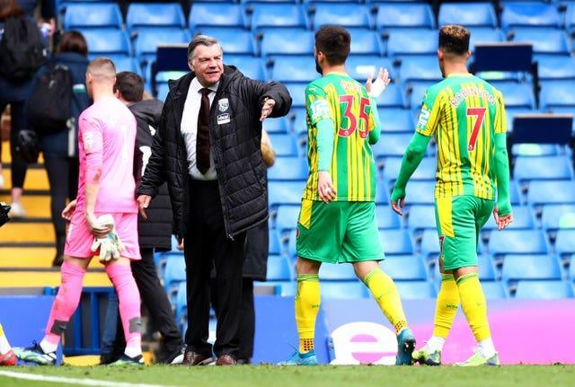 West Brom boss Sam Allardyce lauded a stunning display from his side in the win at Chelsea