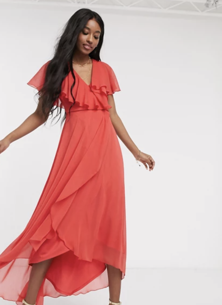 Asos Design maxi dress. (PHOTO: Asos)