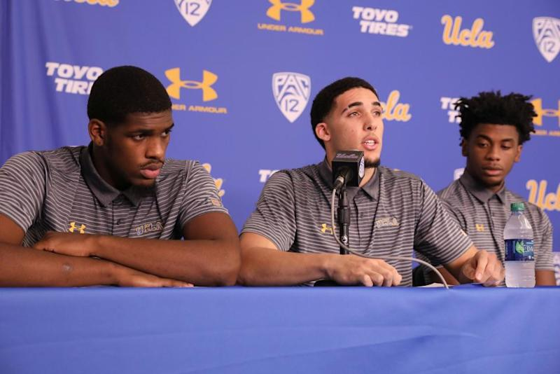 UCLA Players Jailed in China