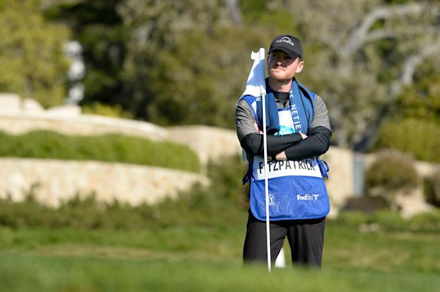 """<div class=""""caption""""> Our writer wasn't surprised at the physical grind of caddieing in a tour event, but rather how exhausted he was mentally. </div> <cite class=""""credit"""">J.D. Cuban</cite>"""