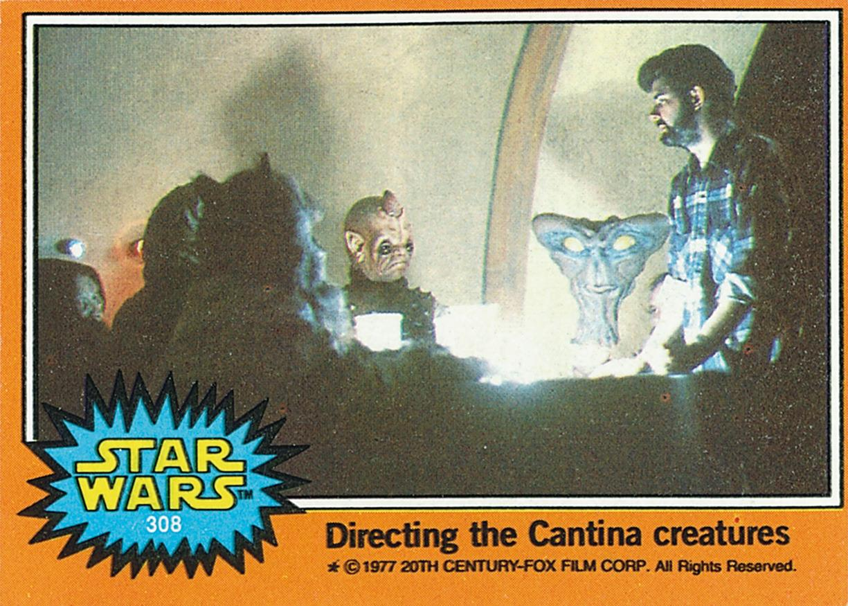"""<p>Gerani recalls """"having fun with Lucas photo editor Sherry Holstein as we exchanged some funny nicknames for the Cantina characters… 'Don Rickles' was one, if memory serves.""""<i>(Credit: Abrams ComicArts and Lucasfilm, LTD 2015)</i></p>"""