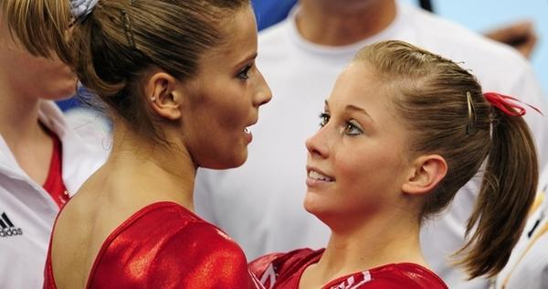 Shawn Johnson Alicia Sacramone