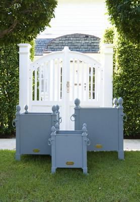 French Orangerie Planter Boxes from garden design resource Authentic Provence, which offers worldwide shipping.