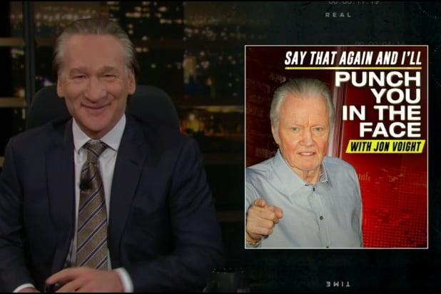 Bill Maher jon voight