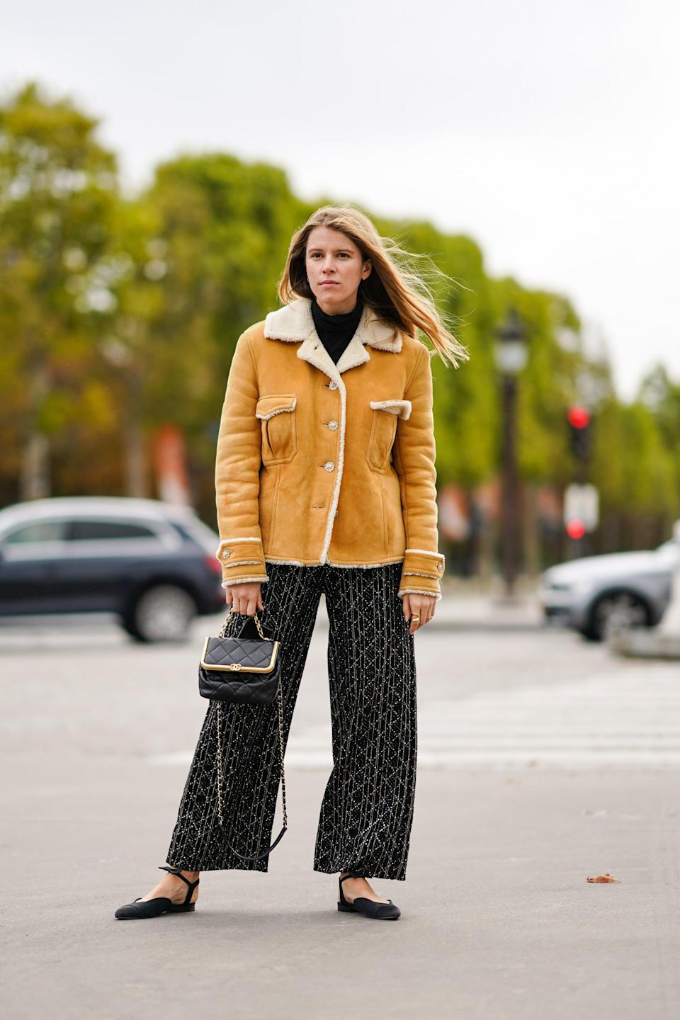 <p>Shearling lining and all-over plush shearling fabrics are comfy, functional, and seriously luxe-looking. We love that these pieces become the center of any outfit, and can be dressed up or dressed down. </p>