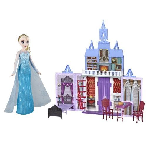 Frozen 2 castle and Elsa doll. (Photo: Walmart)