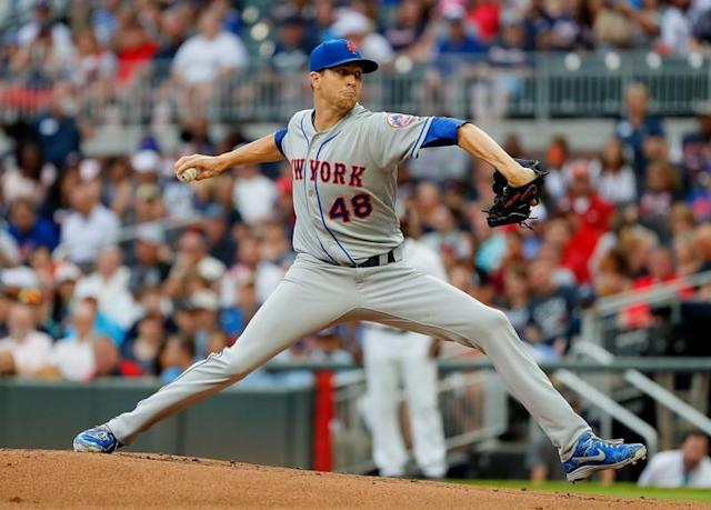 Braves' batters attribute Tuesday performance to dominance of deGrom
