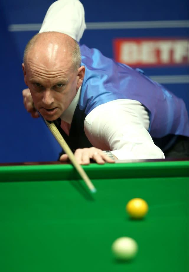 Peter Ebdon had won the 2002 world title. (Tim Goode/PA)