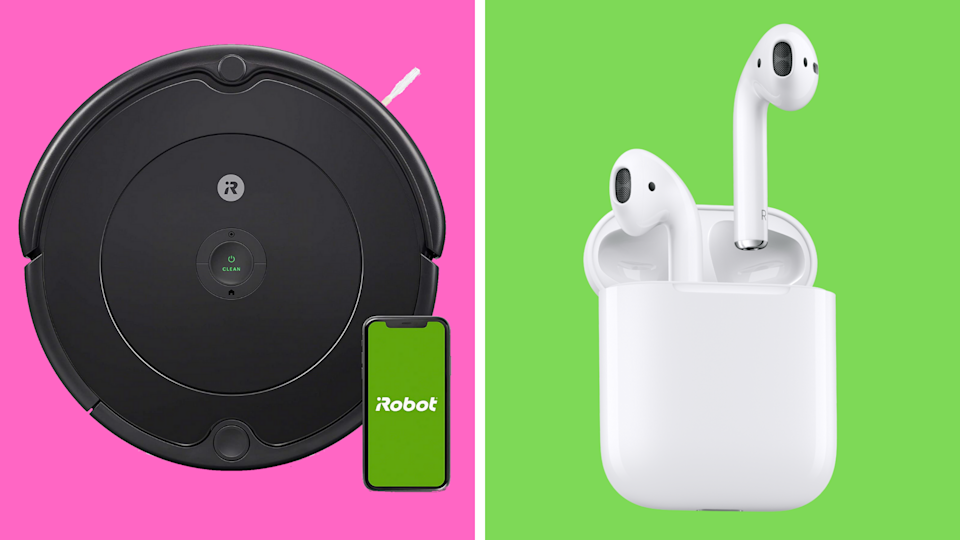 Forget Prime Day! These early Black Friday deals are insane—save big on iRobot Roomba and Apple AirPods. (Photo: Amazon)
