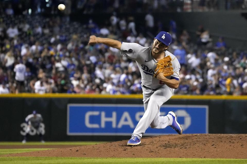 Mitch White started for the Dodgers in a bullpen game Saturday.