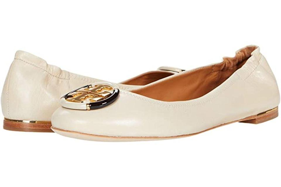 tory burch, tory burch minnie flat, fall 2020 fashion trends, shoes trends, shoes, ballet flats